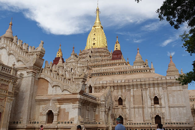 Ananda temple is the most beautiful temple in bagan