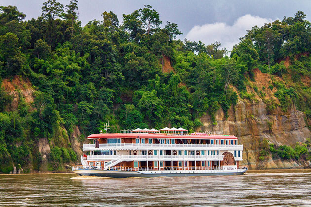 Anawrahta River Cruise - best vessel for myanmar luxury river cruises