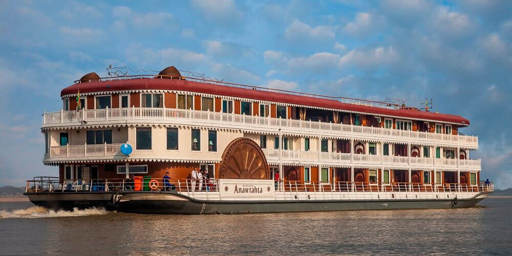 Anawrahta cruise - myanmar river cruises