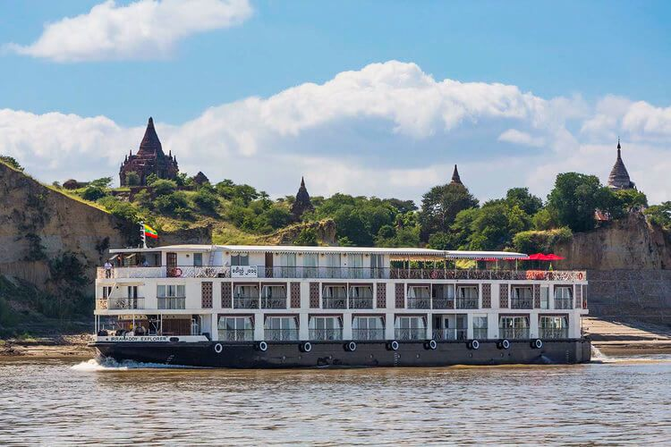 Authentic Irrawaddy Myanmar Cruise Trip