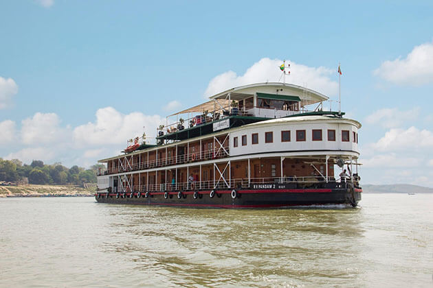 BOUTIQUE IRRAWADDY RIVER CRUISE - RV II PANDAW CRUISE