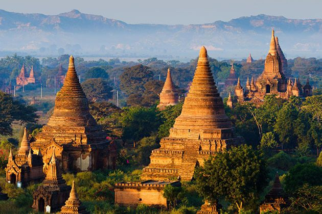 Bagan - land of 3000 pagodas is one of the best destination for myanmar river cruise