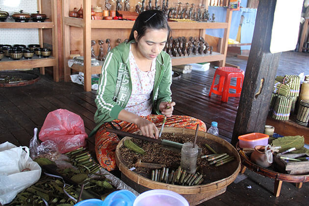 Cigars - unique souvenirs in Myanmar