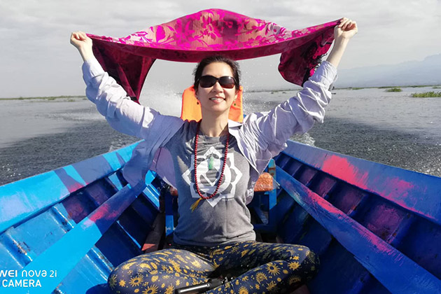 Customer enjoys Myanmar cruise trip