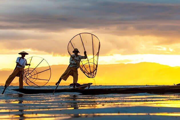 Inle lake - the natural paradise in Myanmar