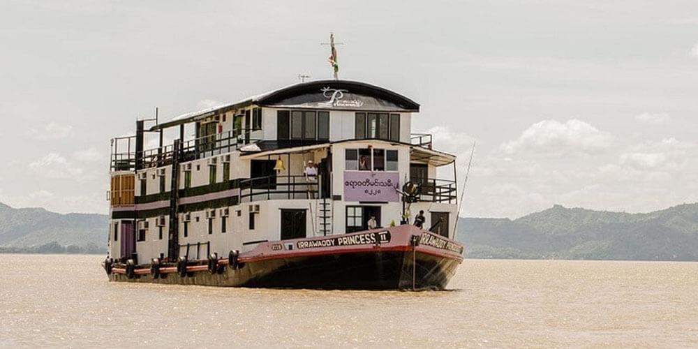 Irrawaddy Princess II River Cruise - myanmar river cruise