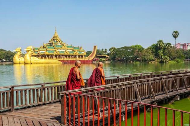 Kandawgyi Lake - place to visit in Myanmar river cruise