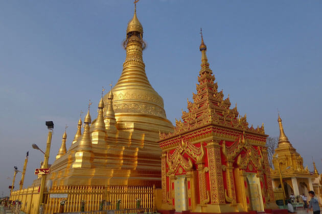 Mya Tha Lun Pagoda - interesting spot for river cruise myanmar