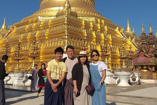 Myanmar cruise trip passengers