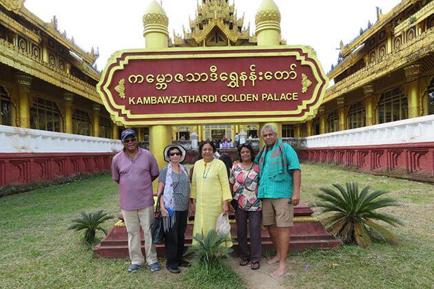 Myanmar river cruise passenger visit Bago on their trip