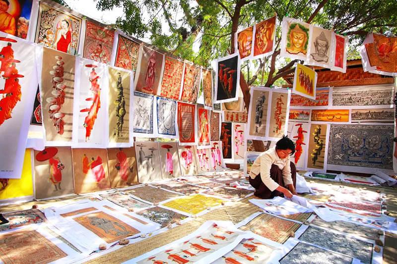 Myanmar souvenirs - things to buy in Myanmar