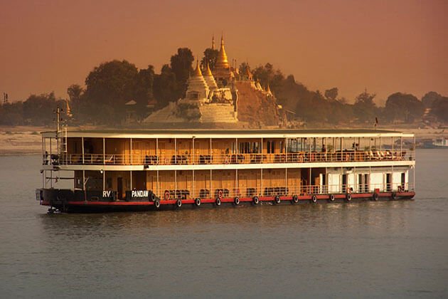 RV KANEE PANDAW - BOUTIQUE SHIP FOR MYANMAR RIVER CRUISE