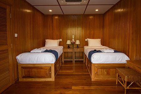 RV Kanee Pandaw Main Deck Cabin