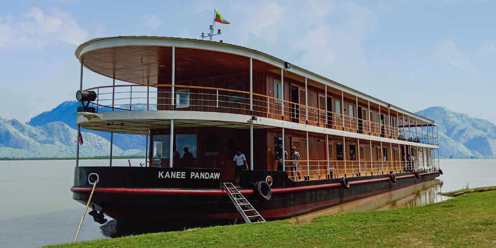 RV Kanee Pandaw River Cruise Ship - Myanmar Boutique Cruise