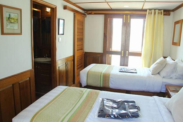 RV Kha Byoo Pandaw Cruise stateroom