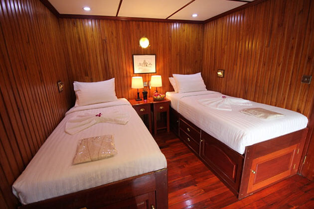 RV Orient Pandaw stateroom