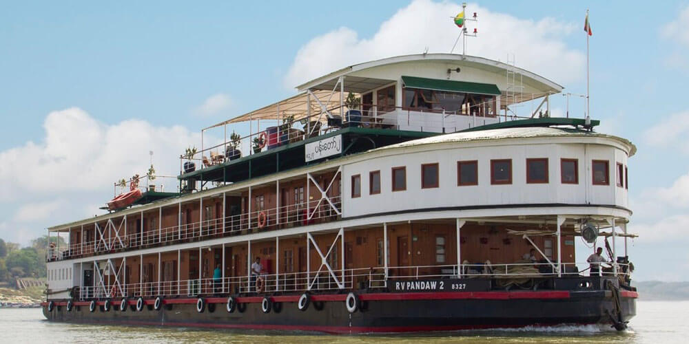 RV Pandaw II Cruise Ship