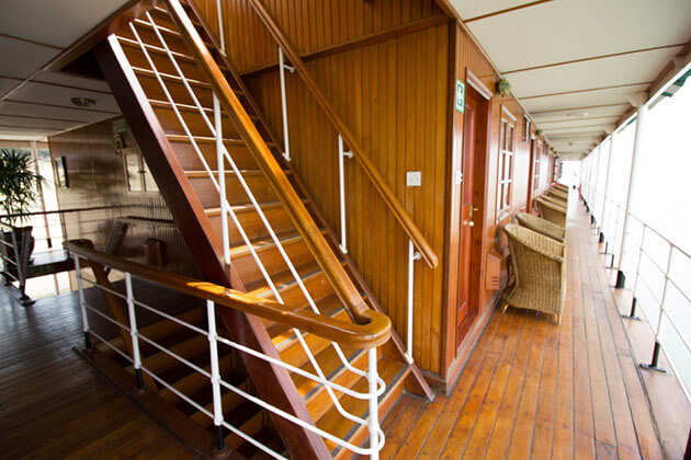 RV Pandaw II interior view