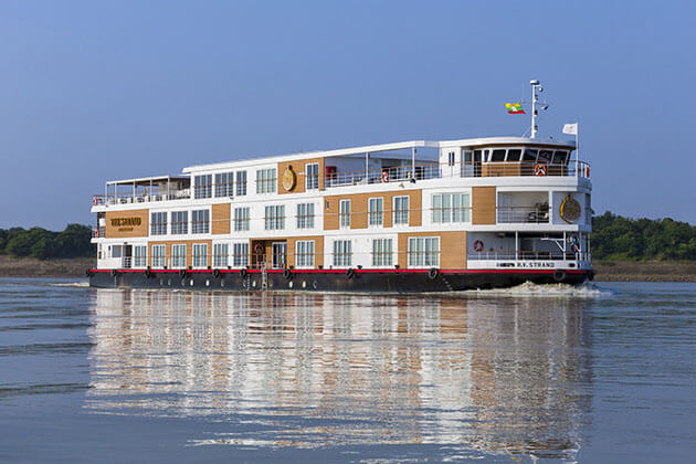 RV Strand Cruise ship for myanmar luxury river cruises
