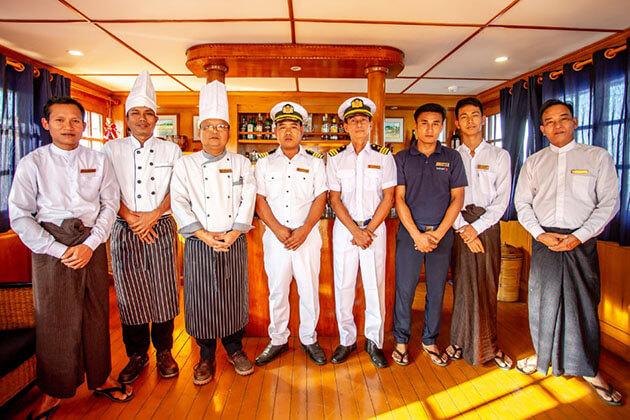 Rv Kalay pandaw cruise ship crew member