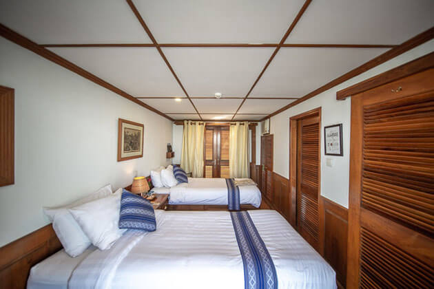 Rv Kalay pandaw cruise ship crew state room