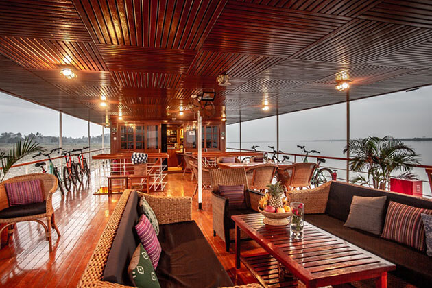 Rv Kalay pandaw cruise ship saloon