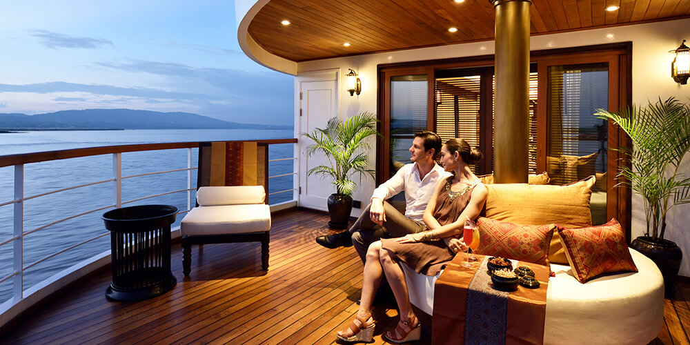 Sanctuary Ananda cruise - luxury ship for myanmar river cruise