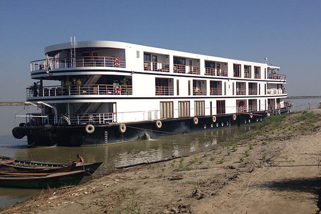 Sanctuary Retreat - popular cruise line for irrawaddy river cruise