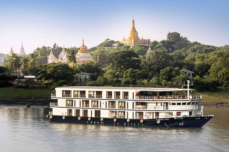 Sanctuary ananda cruise - great cruise ship for myanmar river cruise