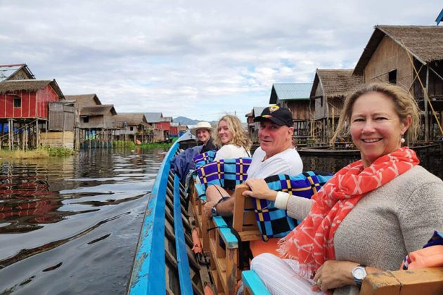 Scenic Myanmar river cruise - 14 Days