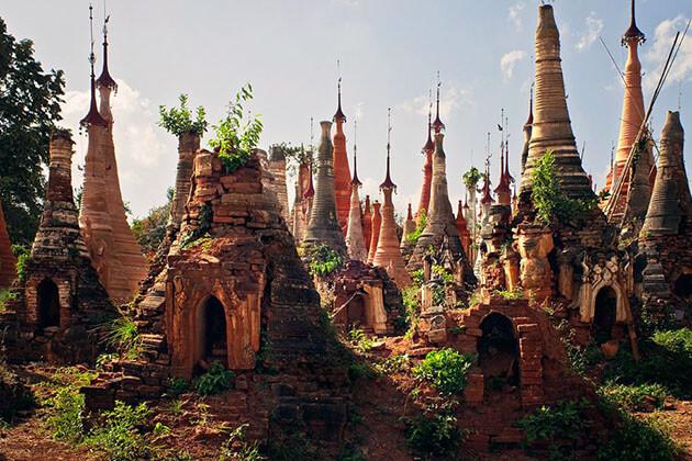 Shwe Indein Temple