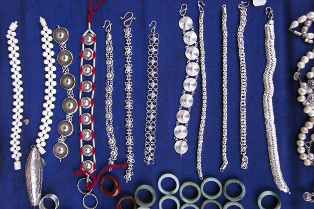 Silverware - intereting Myanmar souvenirs