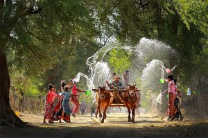 Thingyan Myanmar Water Festival - Highlight of Burmese New Year