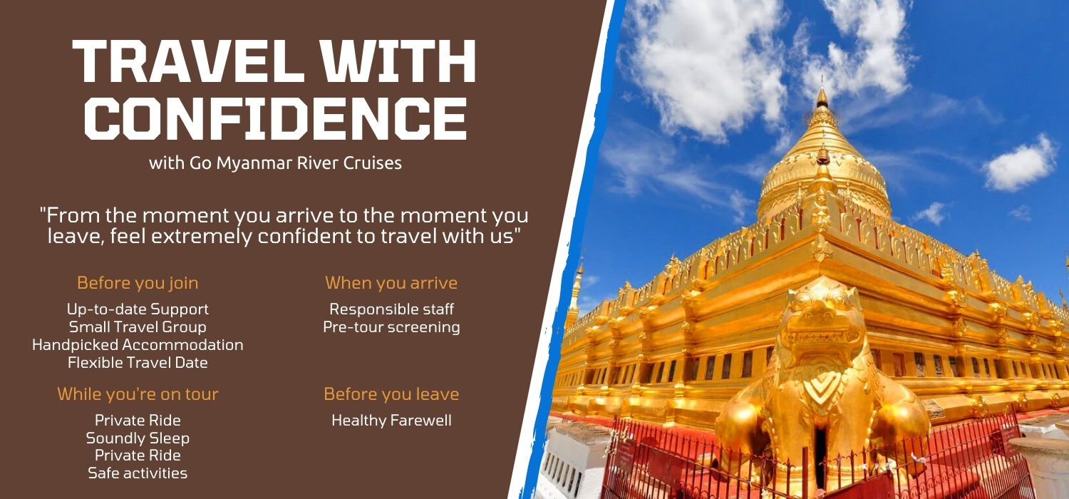 Travel myanmar river cruise vacation with extreme confidence