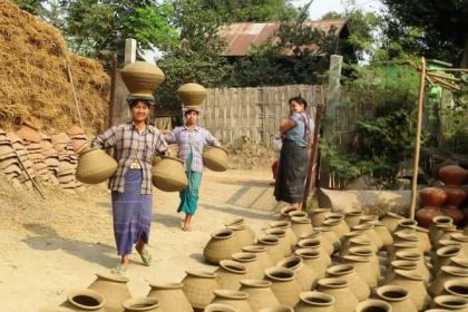 Yandabo Village - beautiful spot for irrawaddy river cruises
