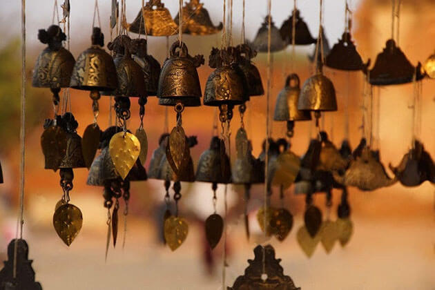 bells and gongs - interesting Myanmar souvenirs