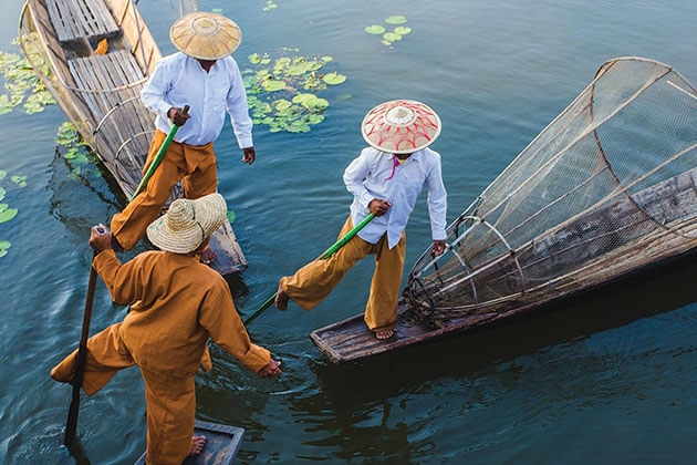 inle lake - best place to extend your myanmar irrawaddy river cruise