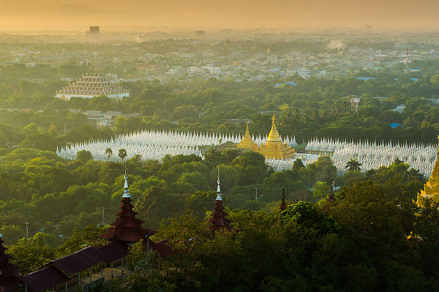 mandalay - great city to visit in cruises irrawaddy