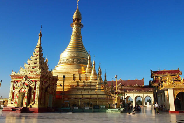 myat-tha-lon-pagoda - attractions in Magwe