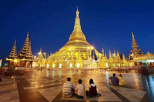 shwedagon pagoda - the pride of Yangon